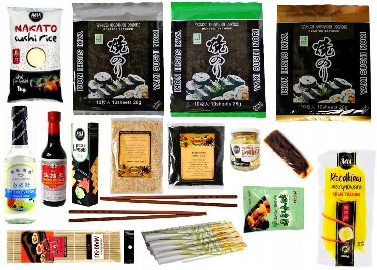 Суши-сет XXL 17 продуктов Супер в подарок