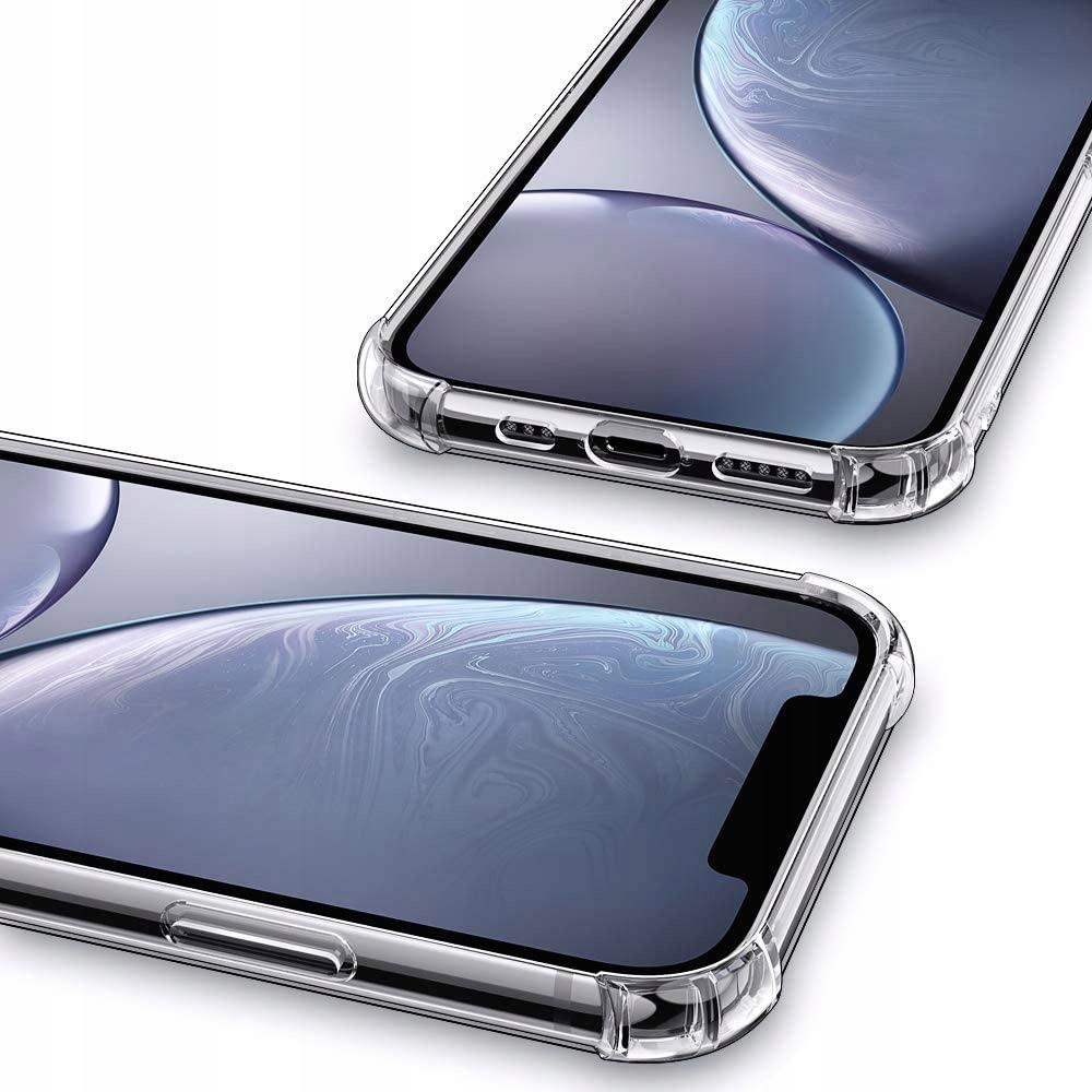 Etui do iPhone 12 ANTI-SHOCK Case + Szkło Dedykowany model iPhone 12