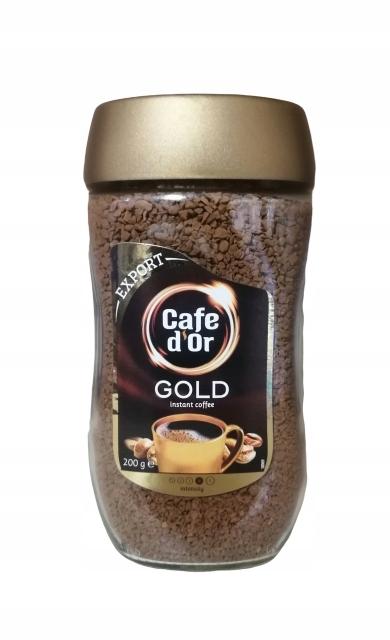 Cafe dor 200 г, кофе растворимый, интенсивный