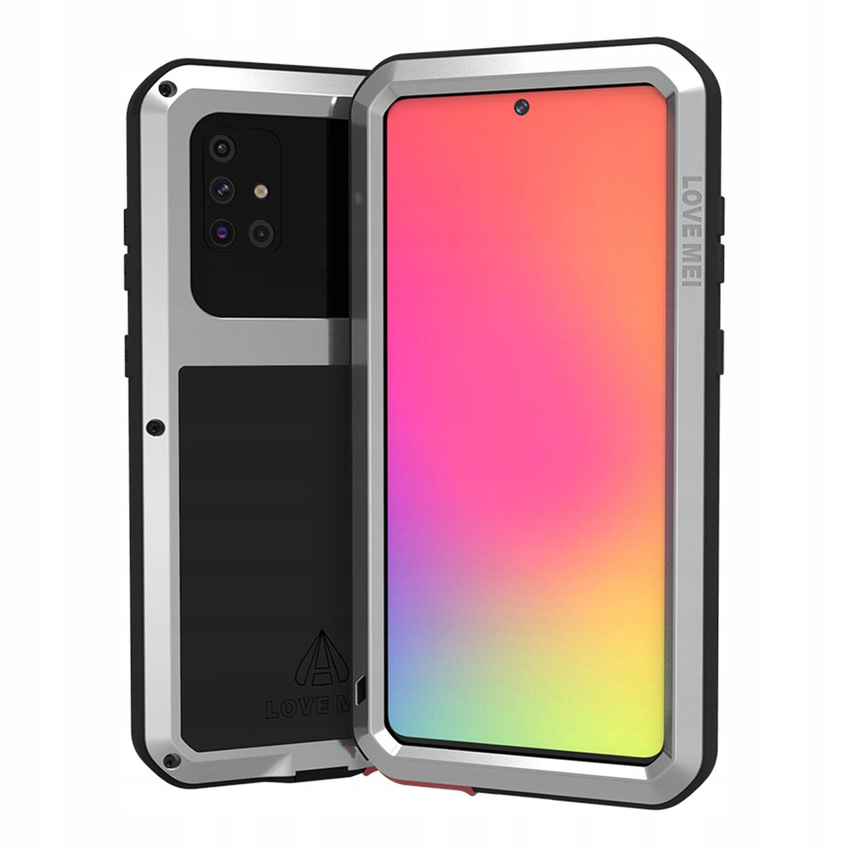 Love Mei Powerful Pancerne Etui Case Do Galaxy A71