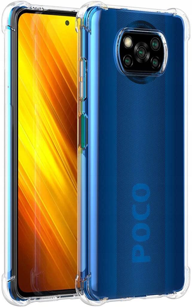 Etui do Xiaomi POCO X3 NFC ANTI-SHOCK + Szkło Funkcje pochłanianie wstrząsów