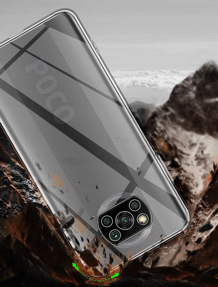 Etui do Xiaomi POCO X3 NFC Clear Case + Szkło 9H Kod producenta N46