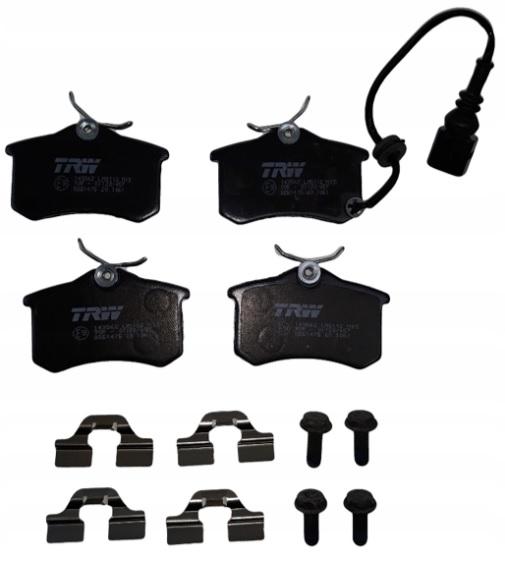 комплект тормозных колодок trw gdb1475