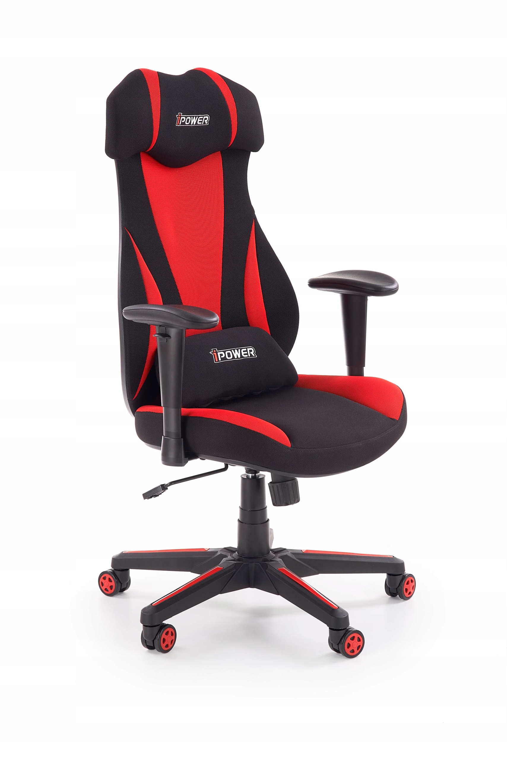 ABART stoličky gabinetowy čierna / červená - Halmar