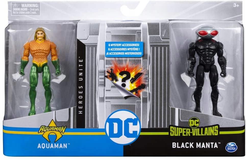 DC Comics OBRÁZKY 10 cm Aquaman Black Manta OBRAZ