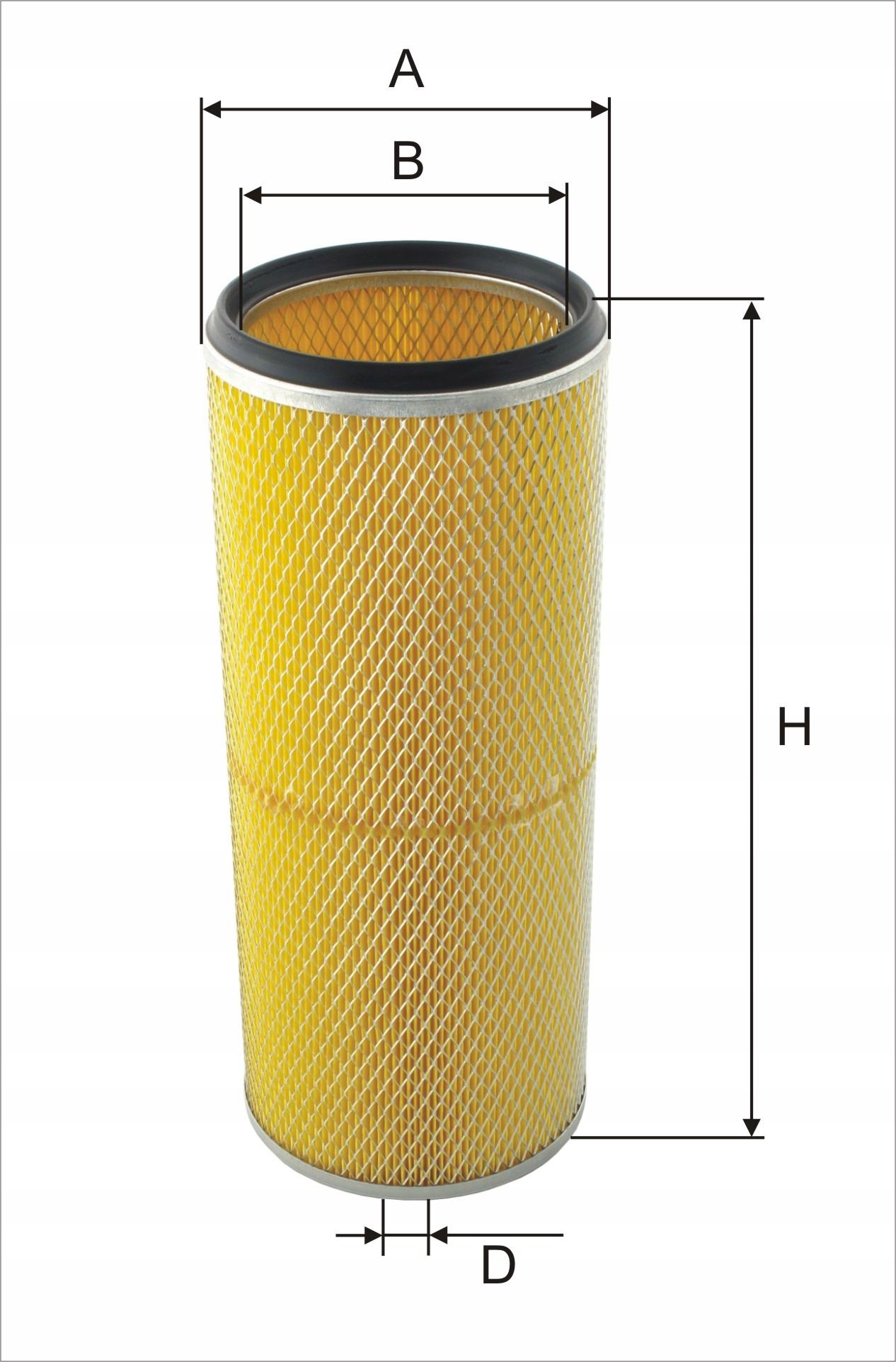 фильтр воздуха exmot wpo-254