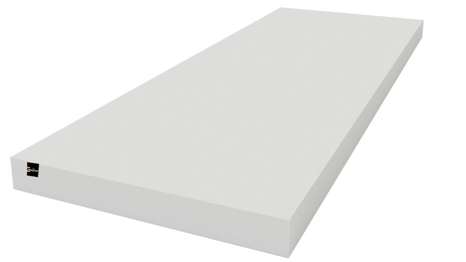 Materac piankowy 80x160 cm pianka KAROLINA ATEST