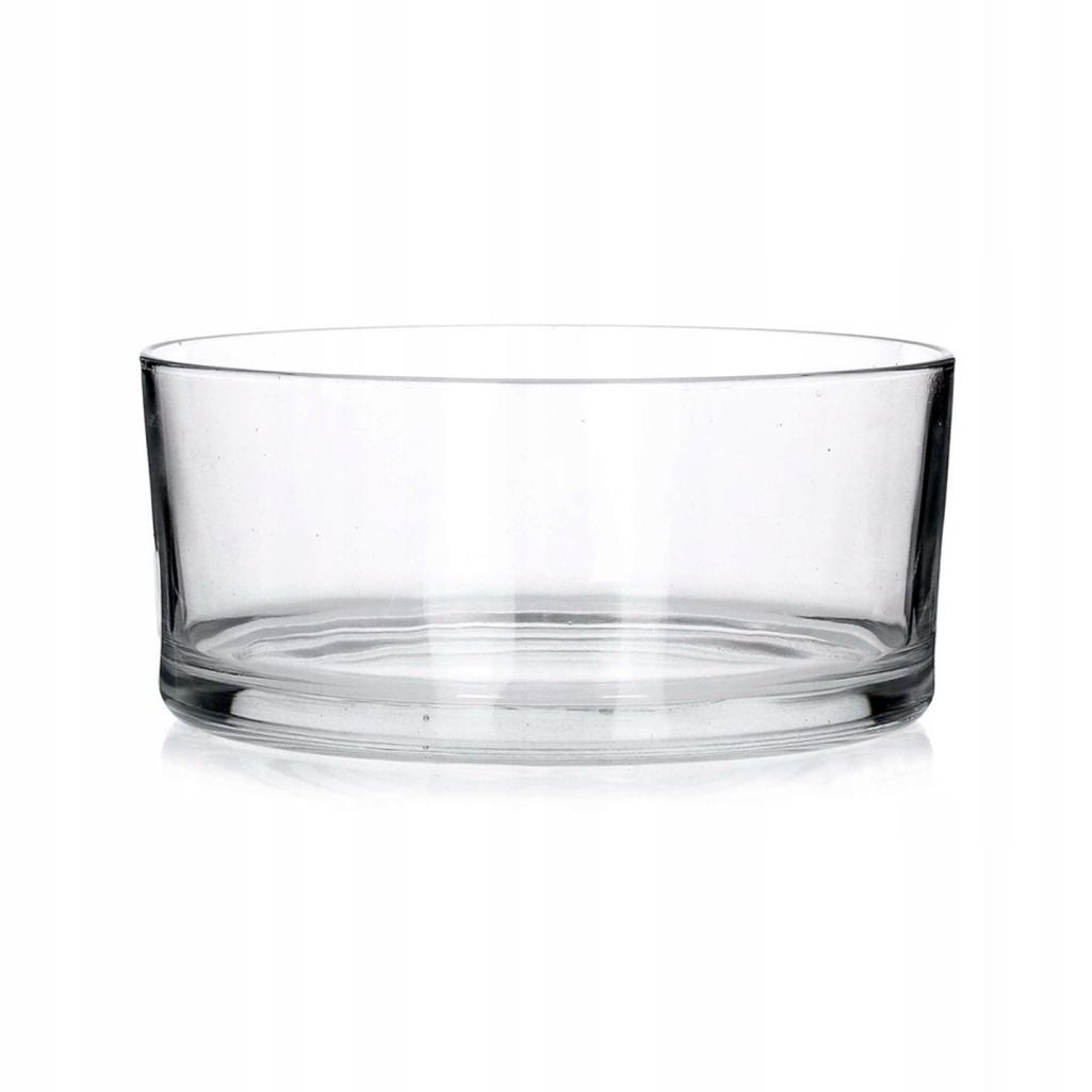 Salaterka szklana prosta 24 cm 9351