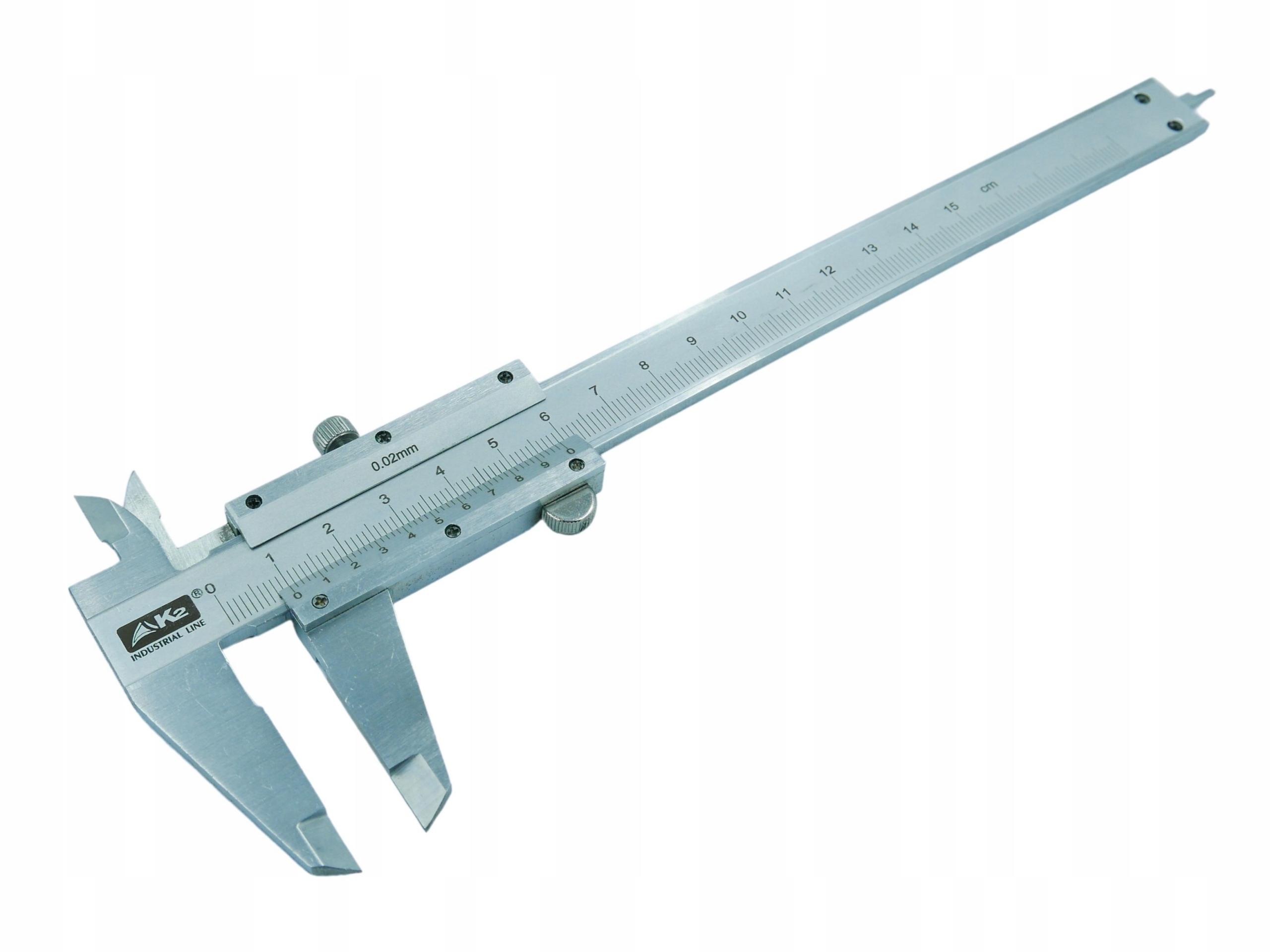 Noniuszowa Caliper L150 0.02mm Analógové Inox FV