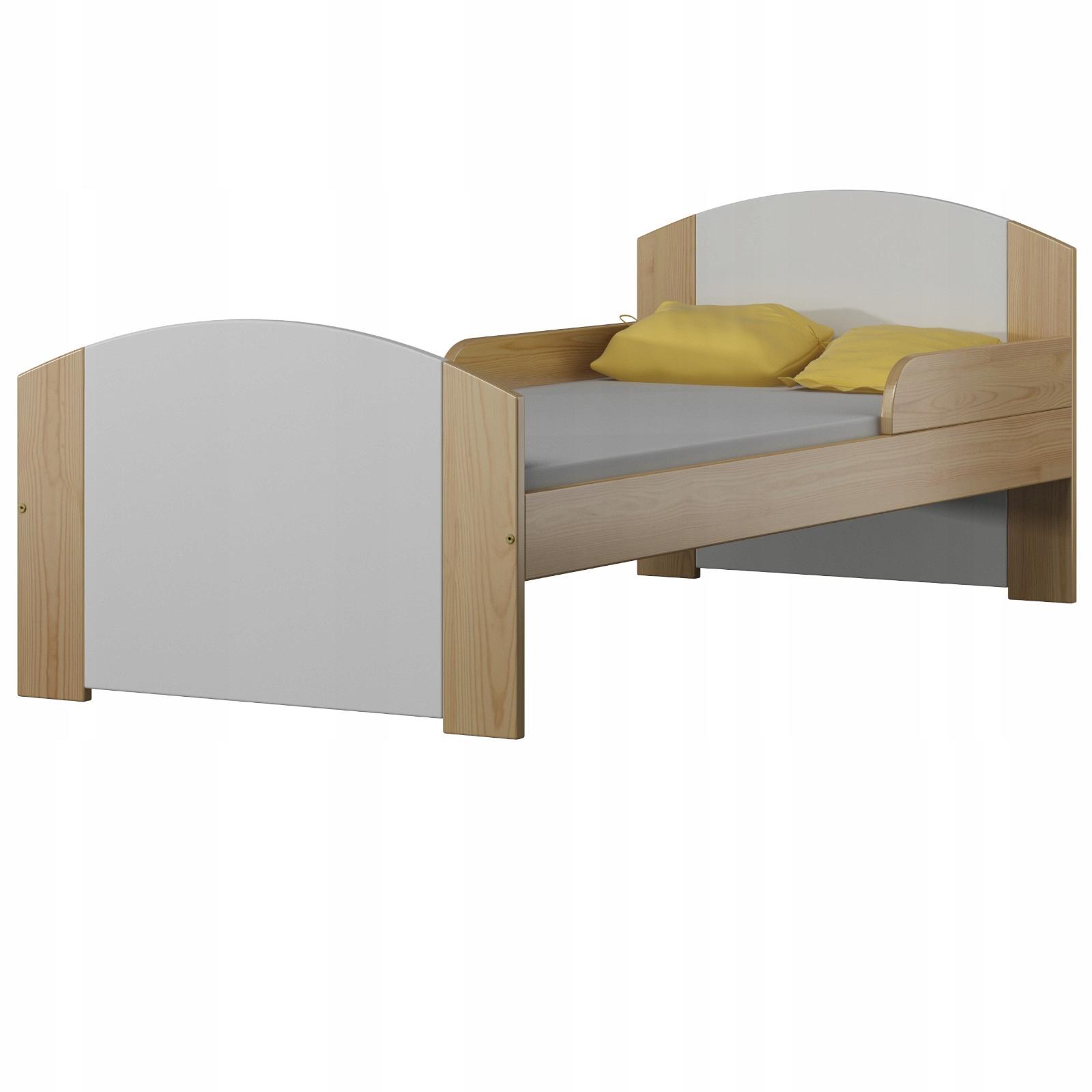Detská posteľ 160x70 PORAZIŤ Drevený Držiak