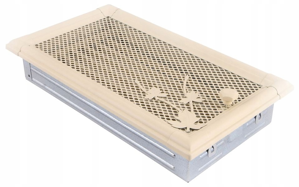 RETRO ventilačná GRILLE 16x32 krémová s uzáverom