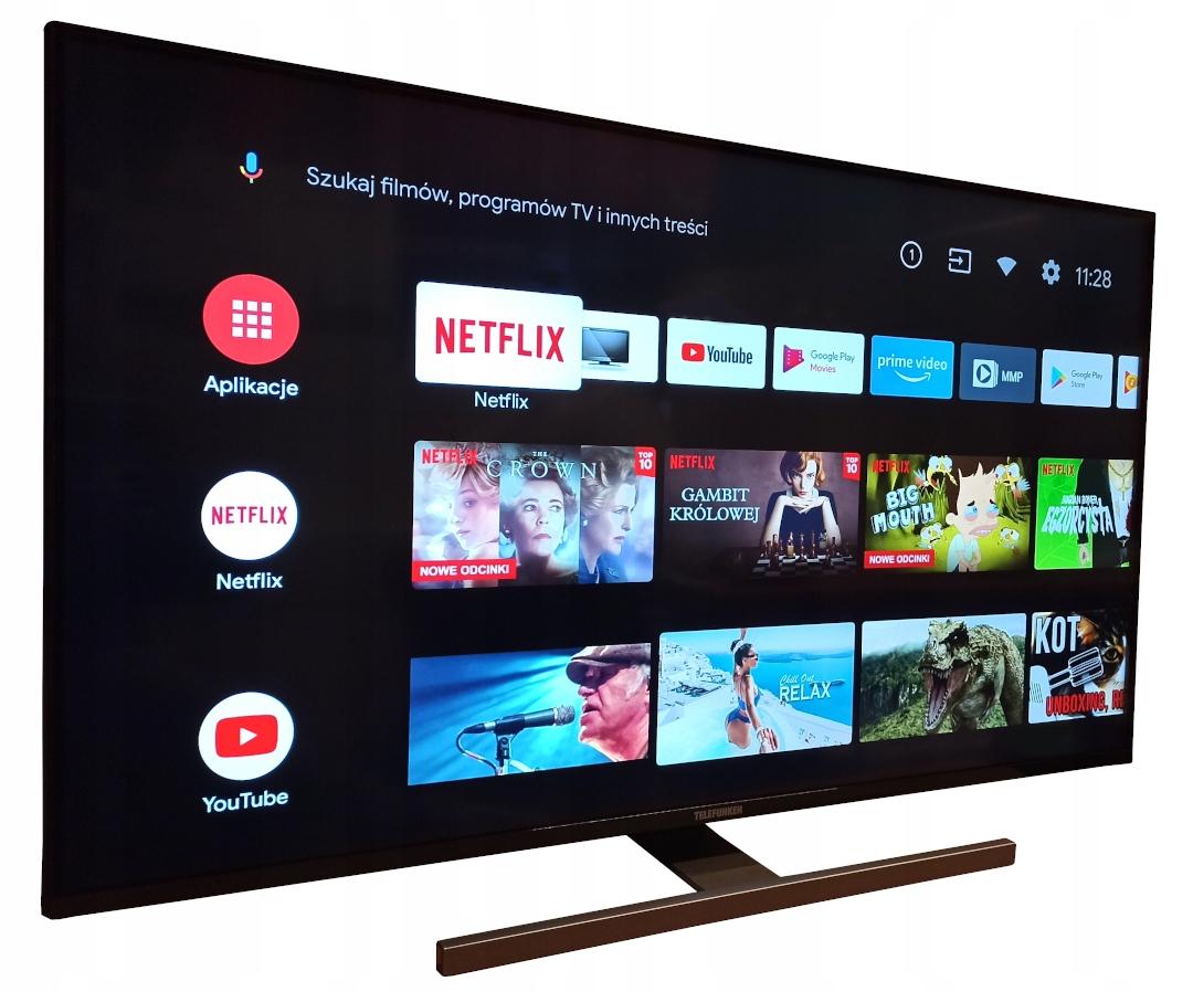 Hit Smart Tv 55 Telefunken D55v900m4cwh 4k Android 10025356483 Sklep Internetowy Agd Rtv Telefony Laptopy Allegro Pl