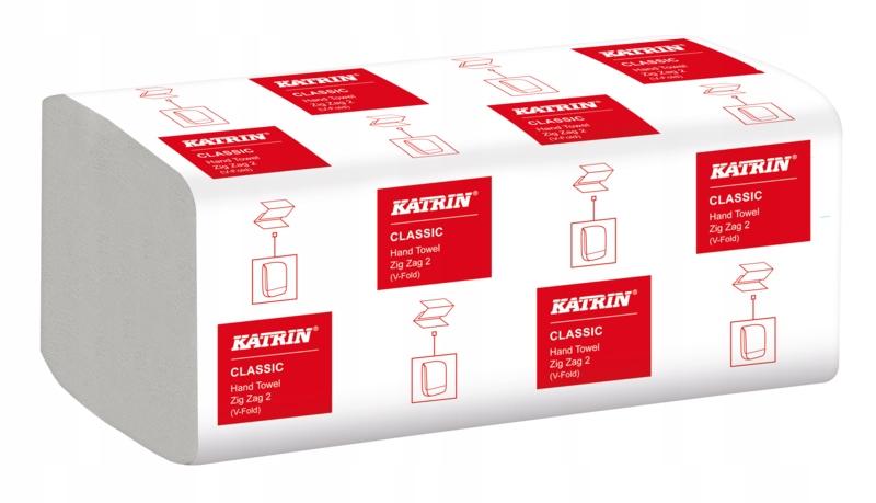Ręczniki papierowe ZZ KATRIN 4000 SZT CELULOZA 2W