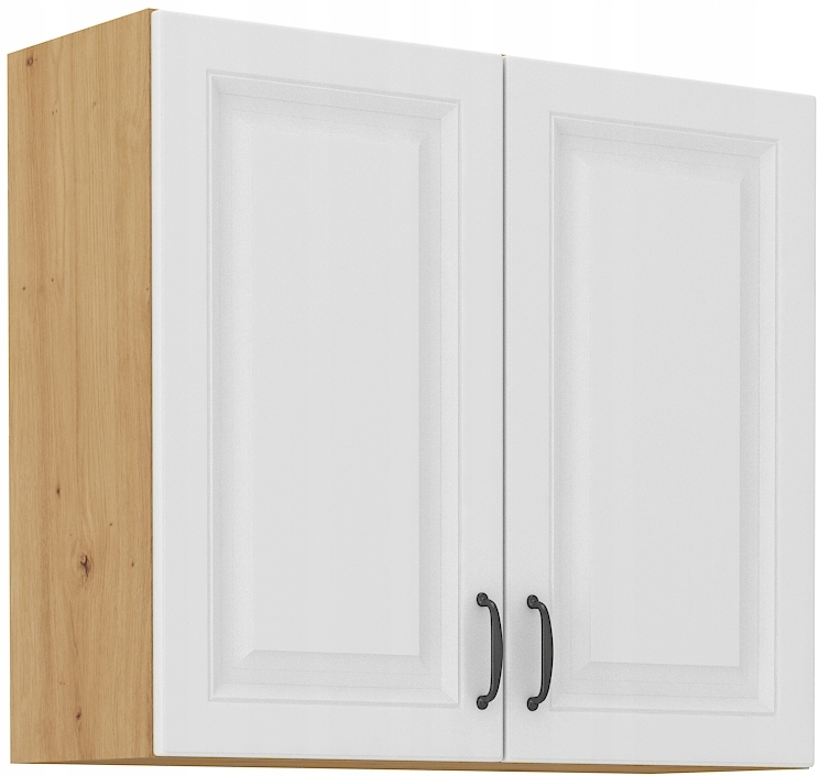 horná kuchynská skrinka 80 cm remeselník + biela RETRO