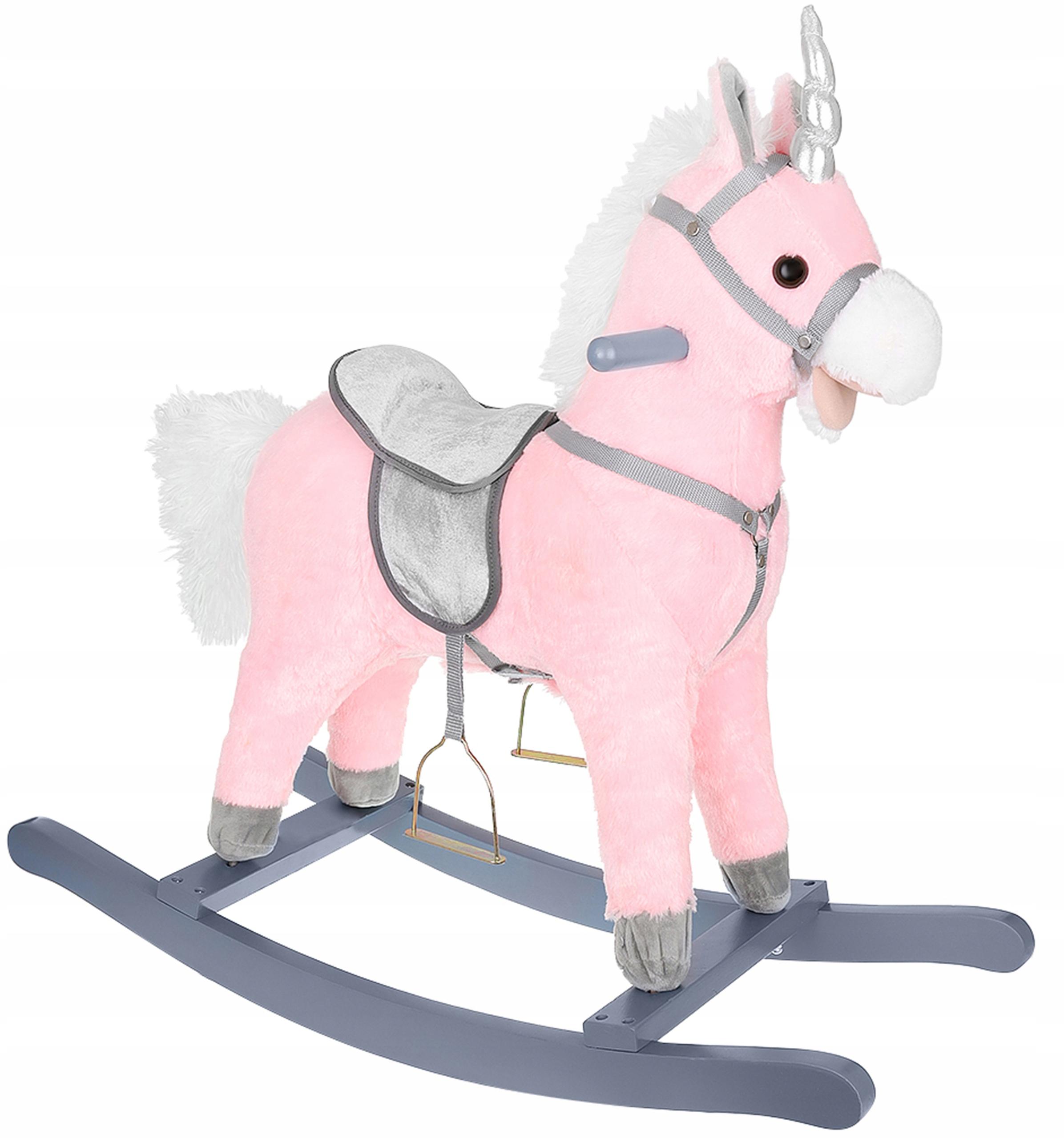 Jednorożec Konik na Biegunach Koń Interaktywny 65
