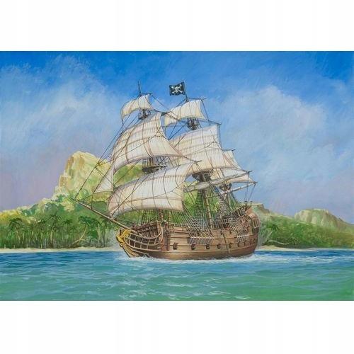Pirátska loď ZVEZDA Čierna labuť