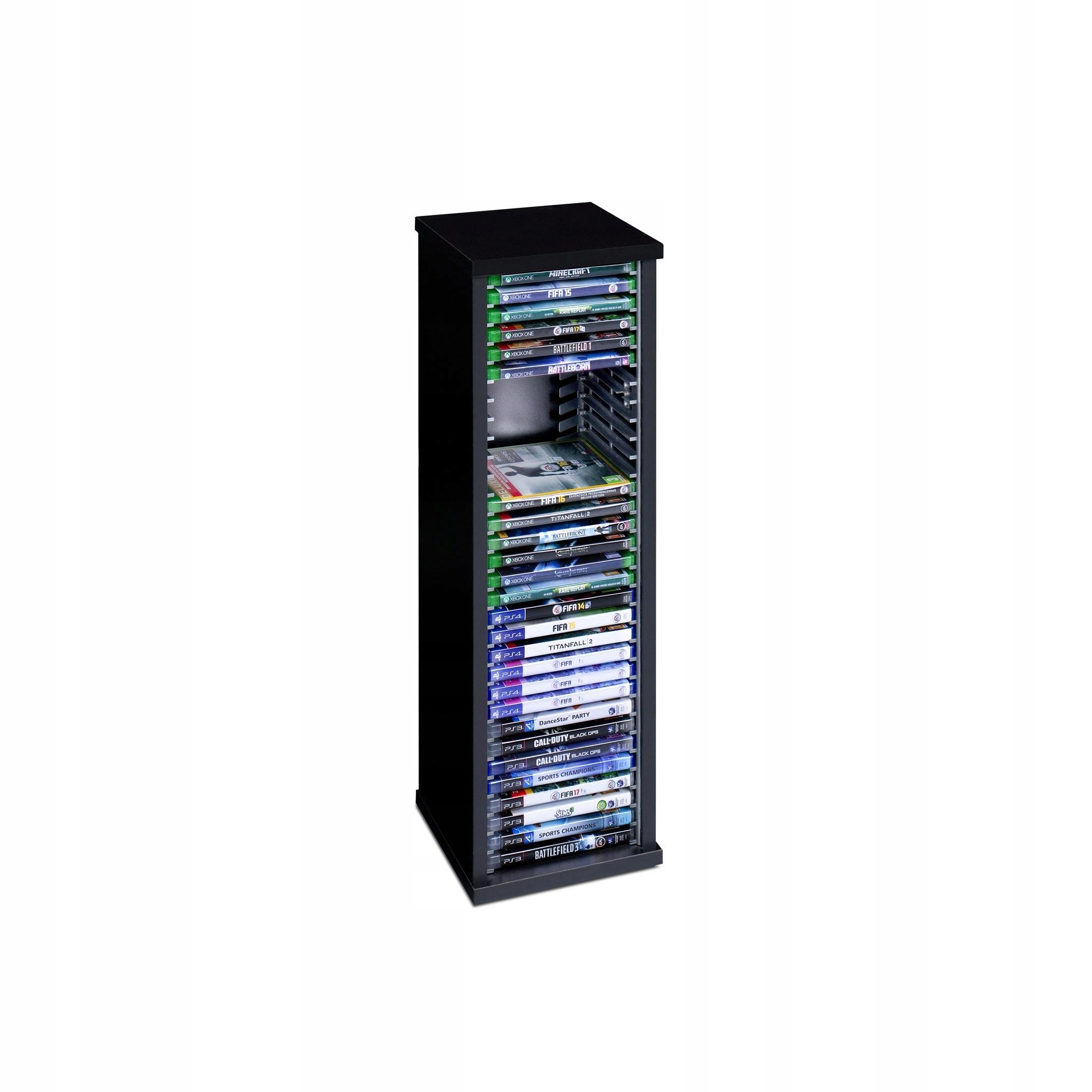 Stojan Kontajner Rack hra PS3 PS4 Xbox Blu-ray 30