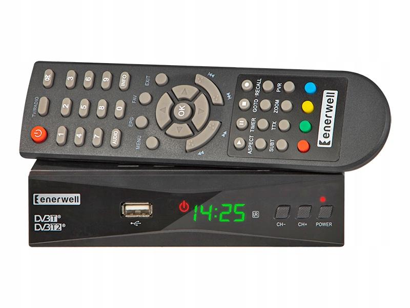DVB-T тюнер Enerwell DVB-T2 декодер наземного ТВ