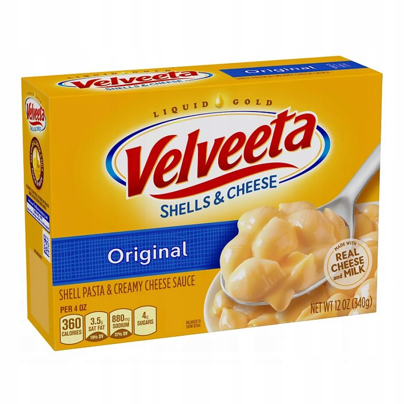 Сыр Velveeta Shells 340г из США