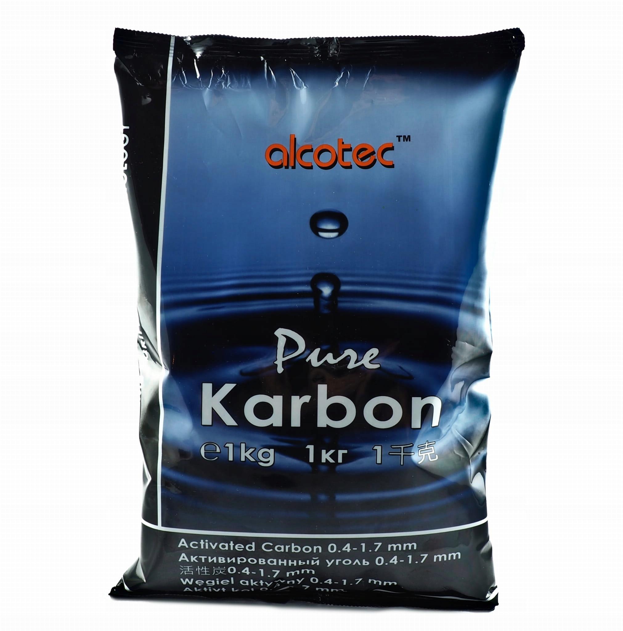 Активированный уголь Alcotec Pure Carbon 1 кг