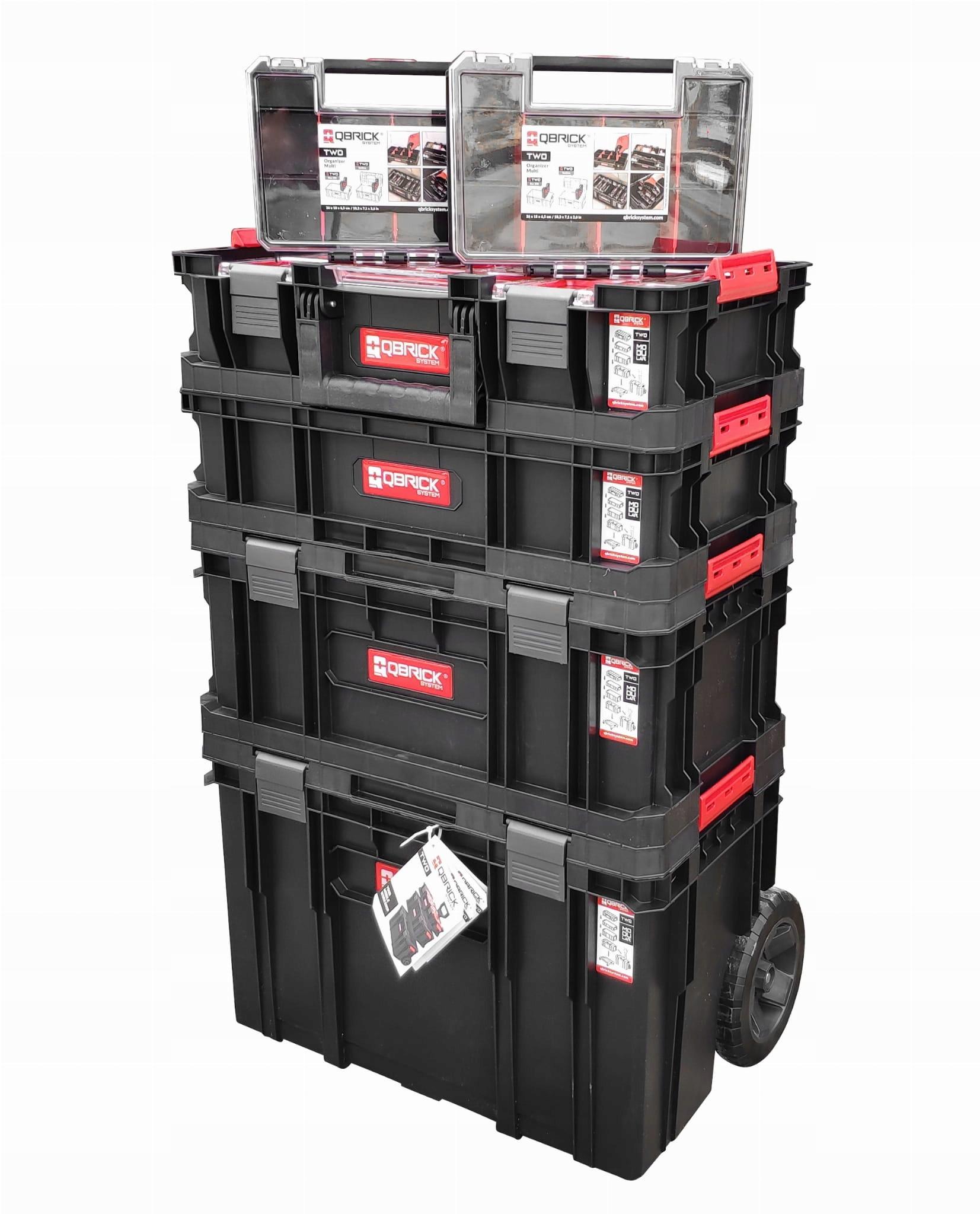 Модули ящика для инструментов Qbrick Two Cart 6in1