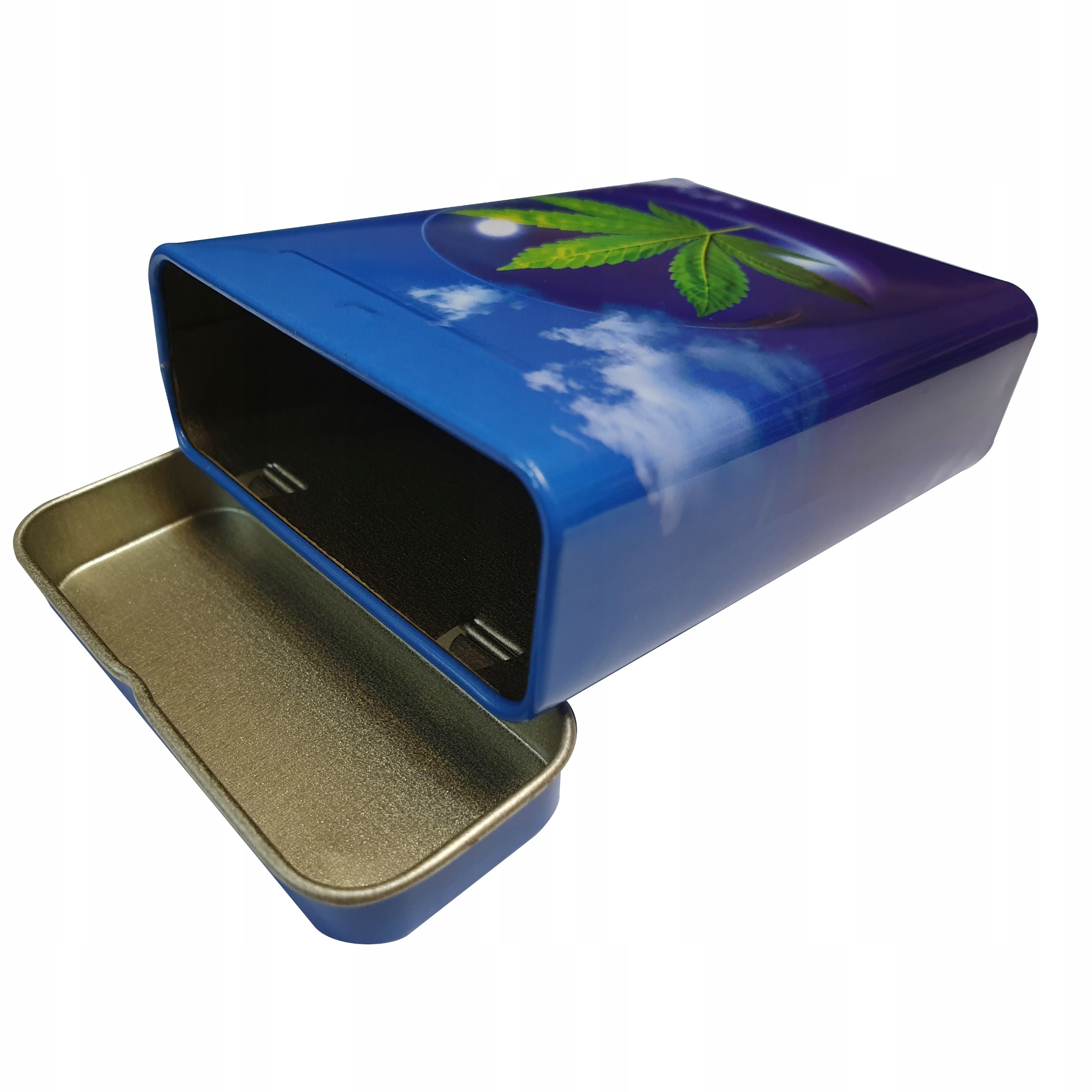 Купить Металлическая коробка Марихуаны на кальян на Otpravka - цены и фото - доставка из Польши и стран Европы в Украину.