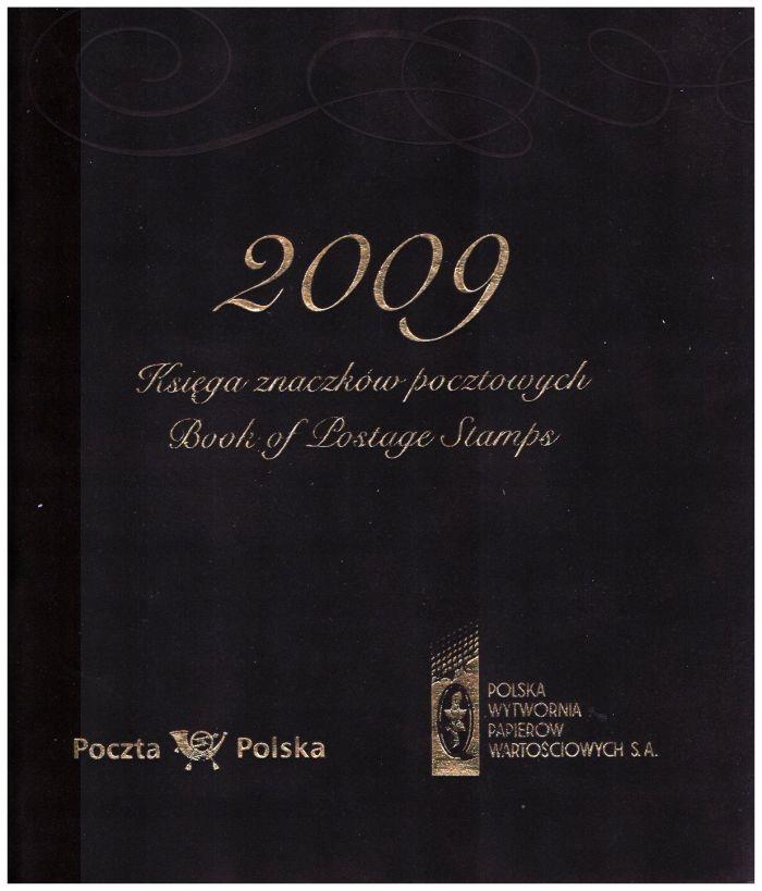 Книга почтовых марок - Ежегодник 2009