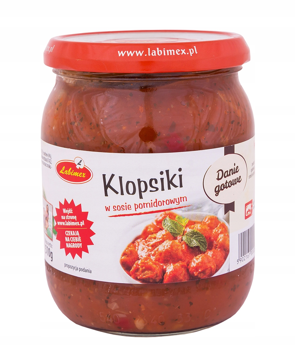 Тефтели в томатном соусе 510г