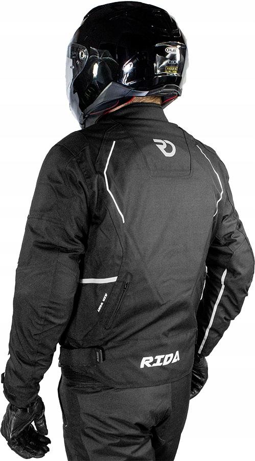 Куртка мотоциклетная текстильная meska туристическая, фото 3