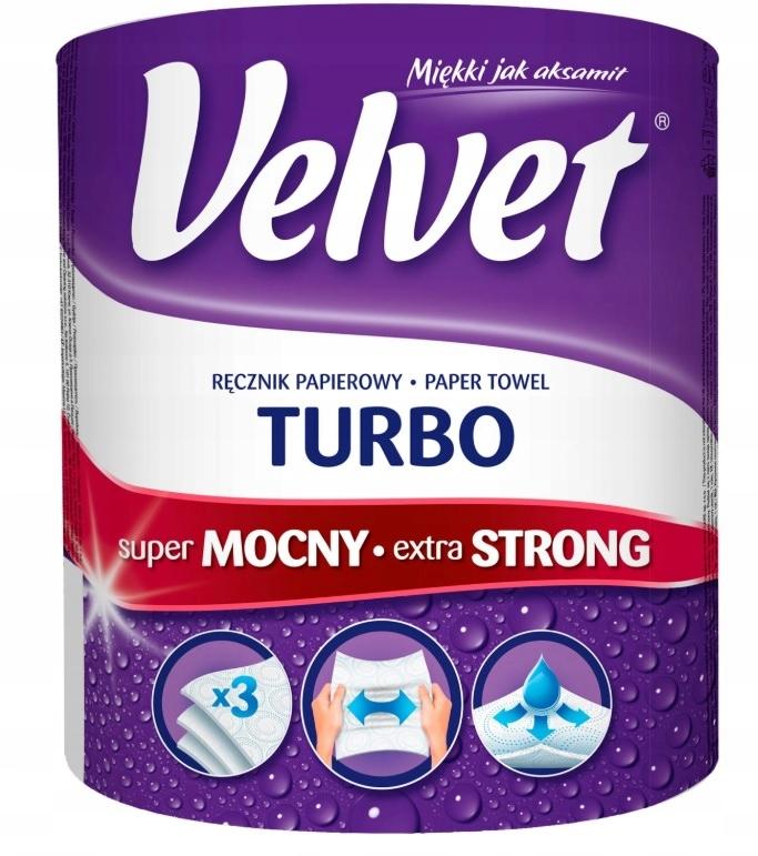 Ręcznik papierowy VELVET TURBO