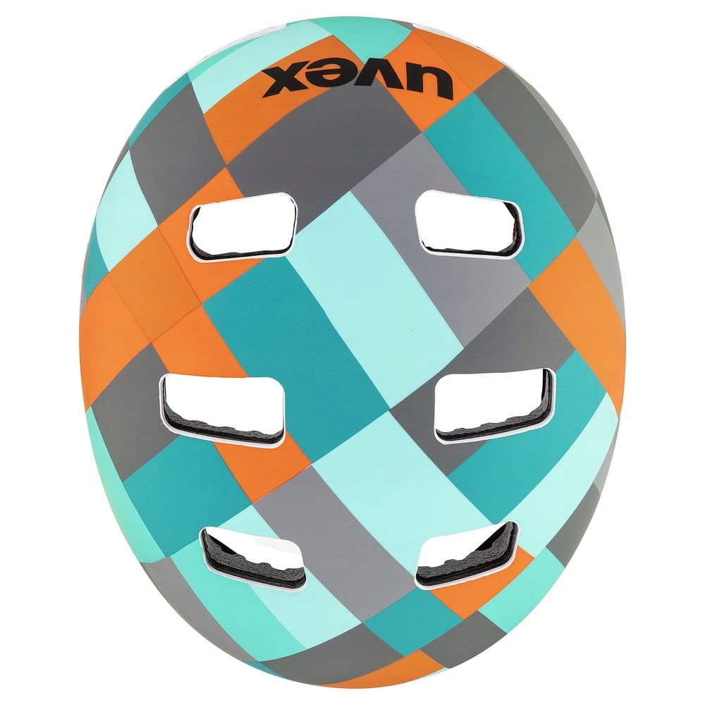 Kask sportowy Uvex Kid 3cc Multikolor 51-55cm EAN 4043197323480