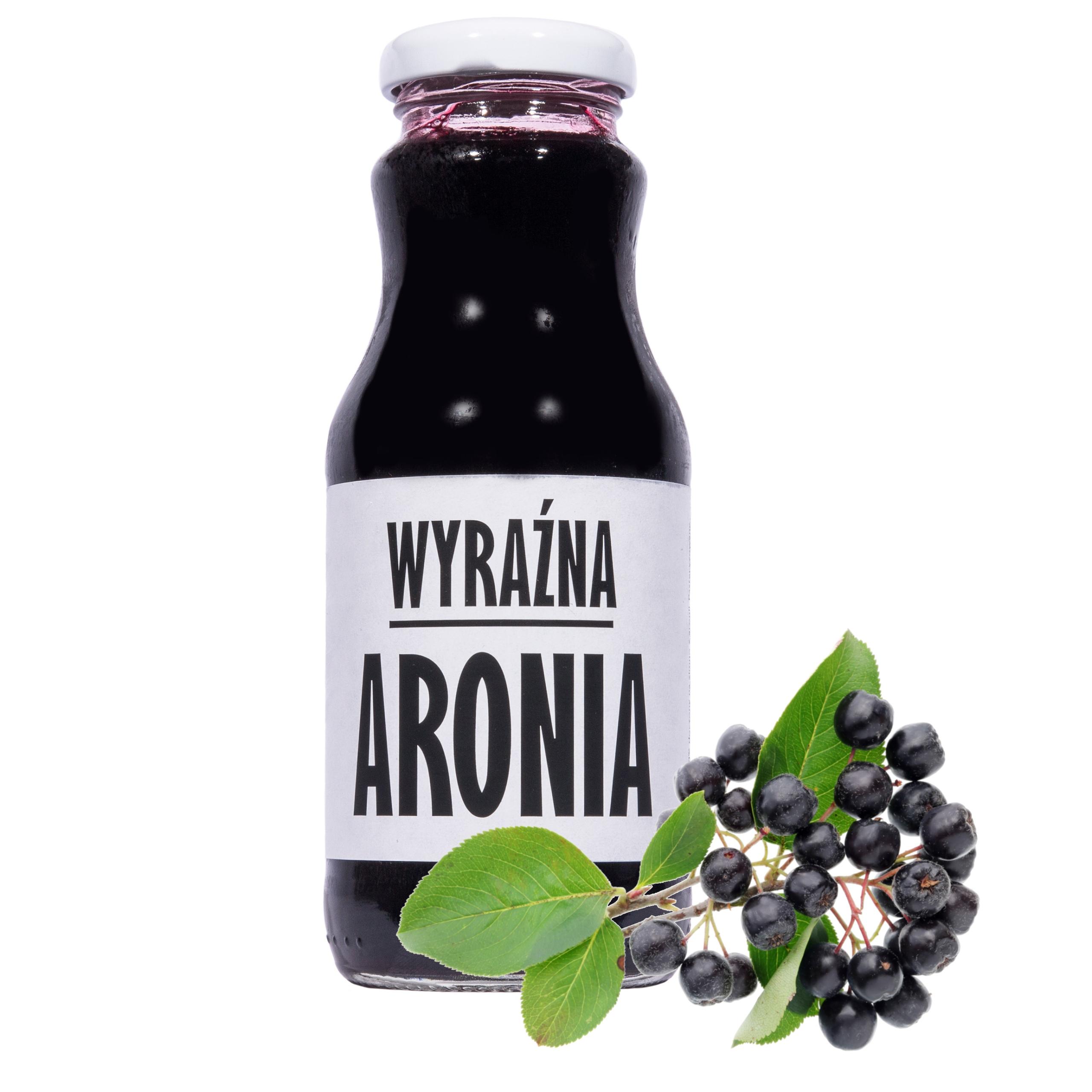 sok aronia aroniowy 100% sok z aronii 250ml
