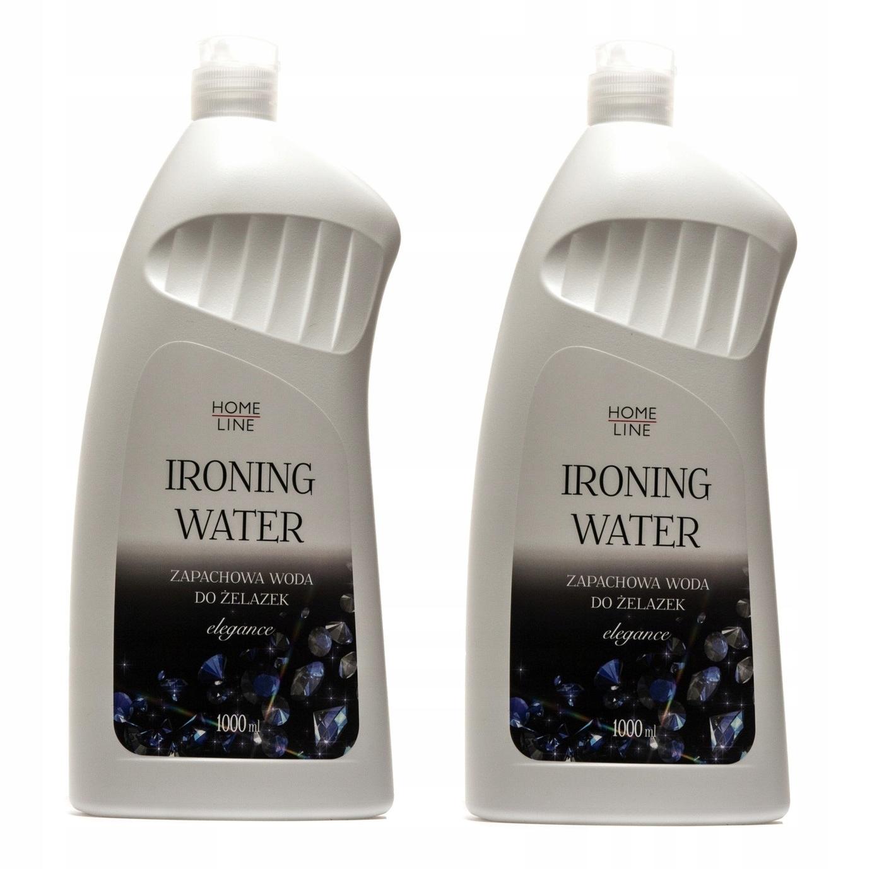 Home Line Woda Zapachowa żelazka płyn - 2x 1000 ml