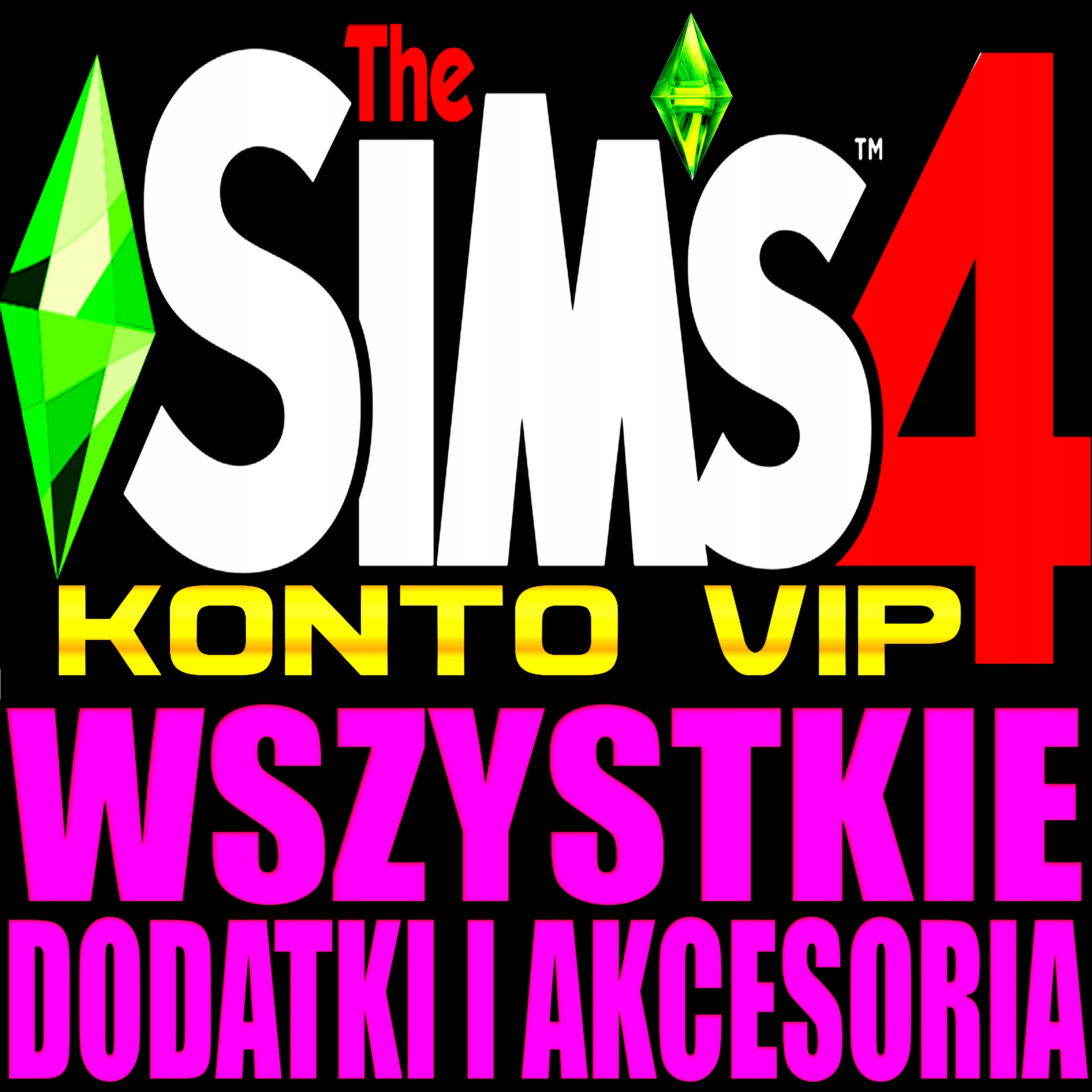 Item THE SIMS 4 + ALL ADD-ON DLC STEAM VIP ACCOUNT