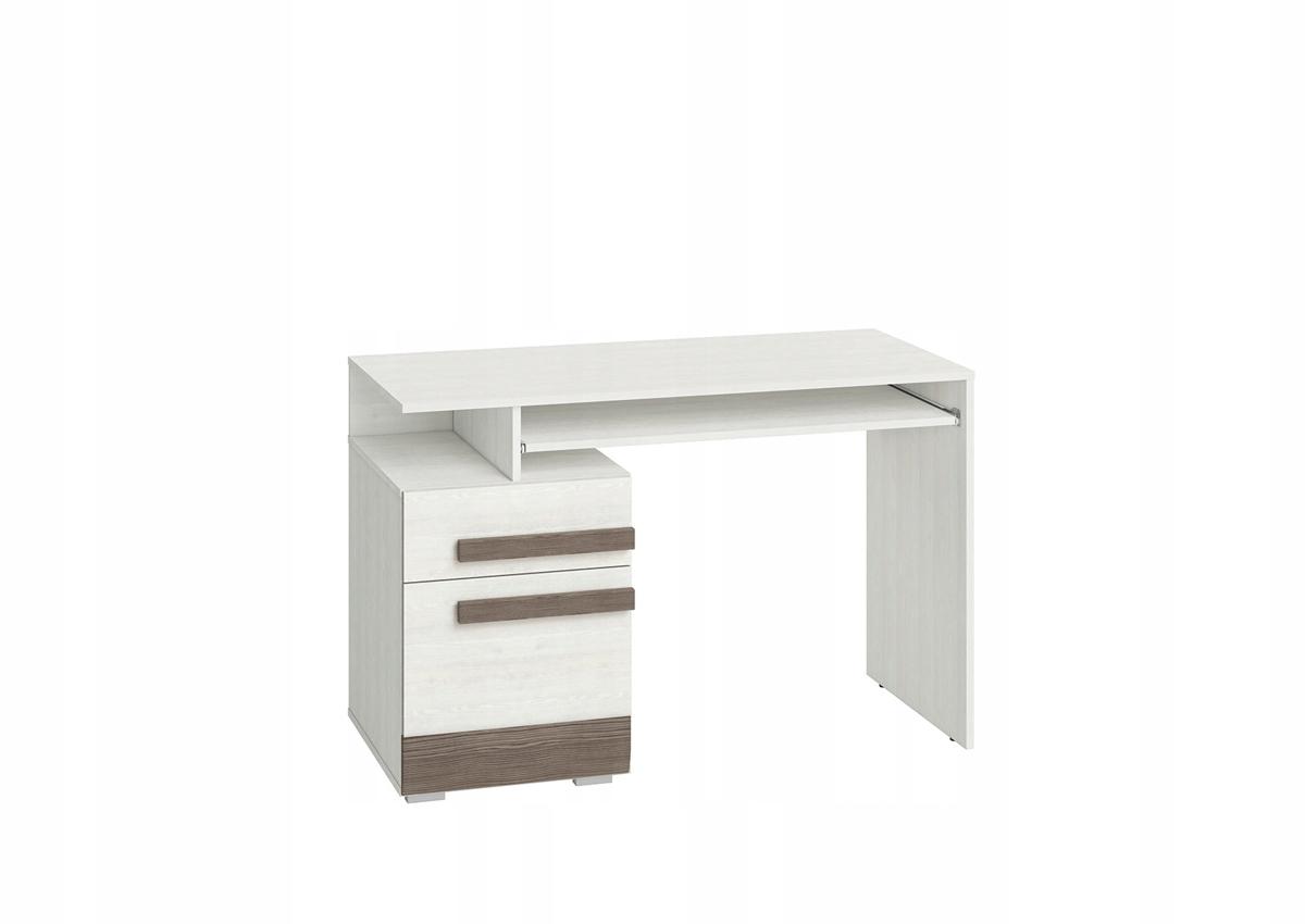 Stôl Blanco 11 snehu borovice + sivá ml nábytok