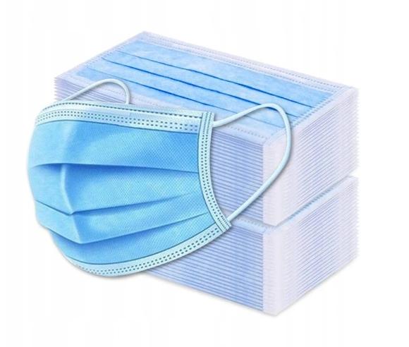 маска защитная одноразовая MASK 3W 100 шт.