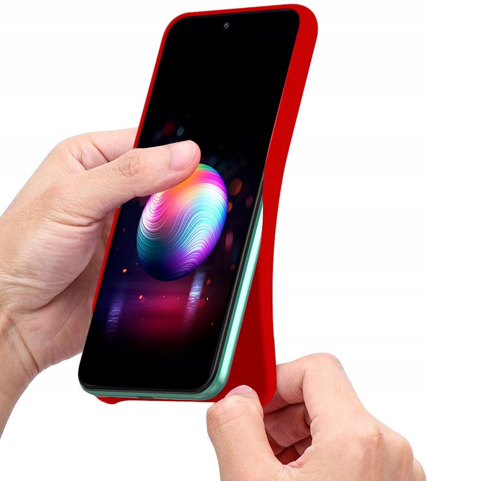 Etui do Samsung Galaxy A31 Case Silikon + Szkło 9H Producent KrainaGSM