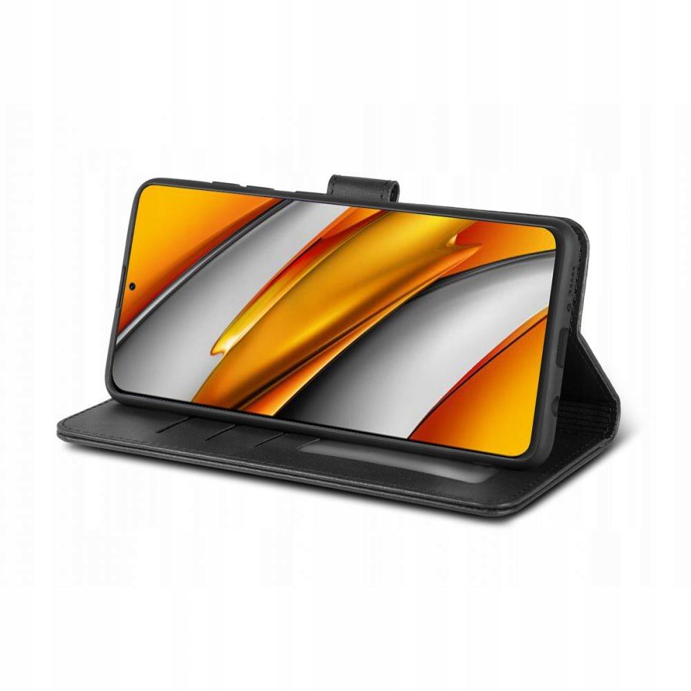 Etui Wallet 2 + Szkło Full Glue do Xiaomi Poco F3 Dedykowany model Xiaomi Poco F3
