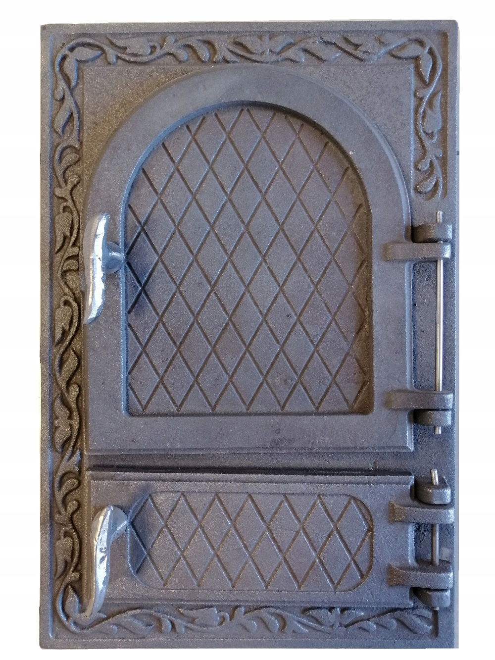 dvere liatinovej pece 49x32,5 cm
