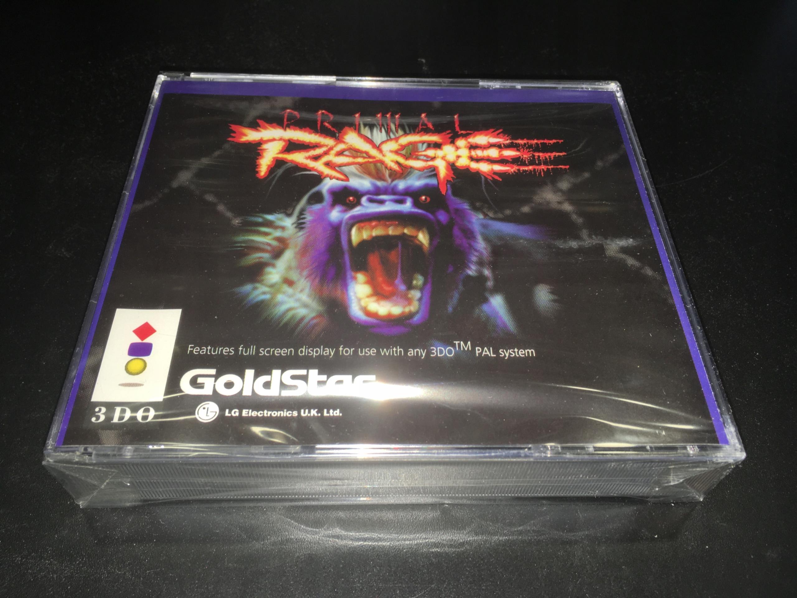 Primal Rage / Panasonic 3DO / úplne nové
