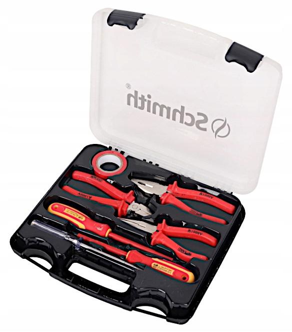 Zestaw narzędzi dla elektryka 1000v walizka 7szt.