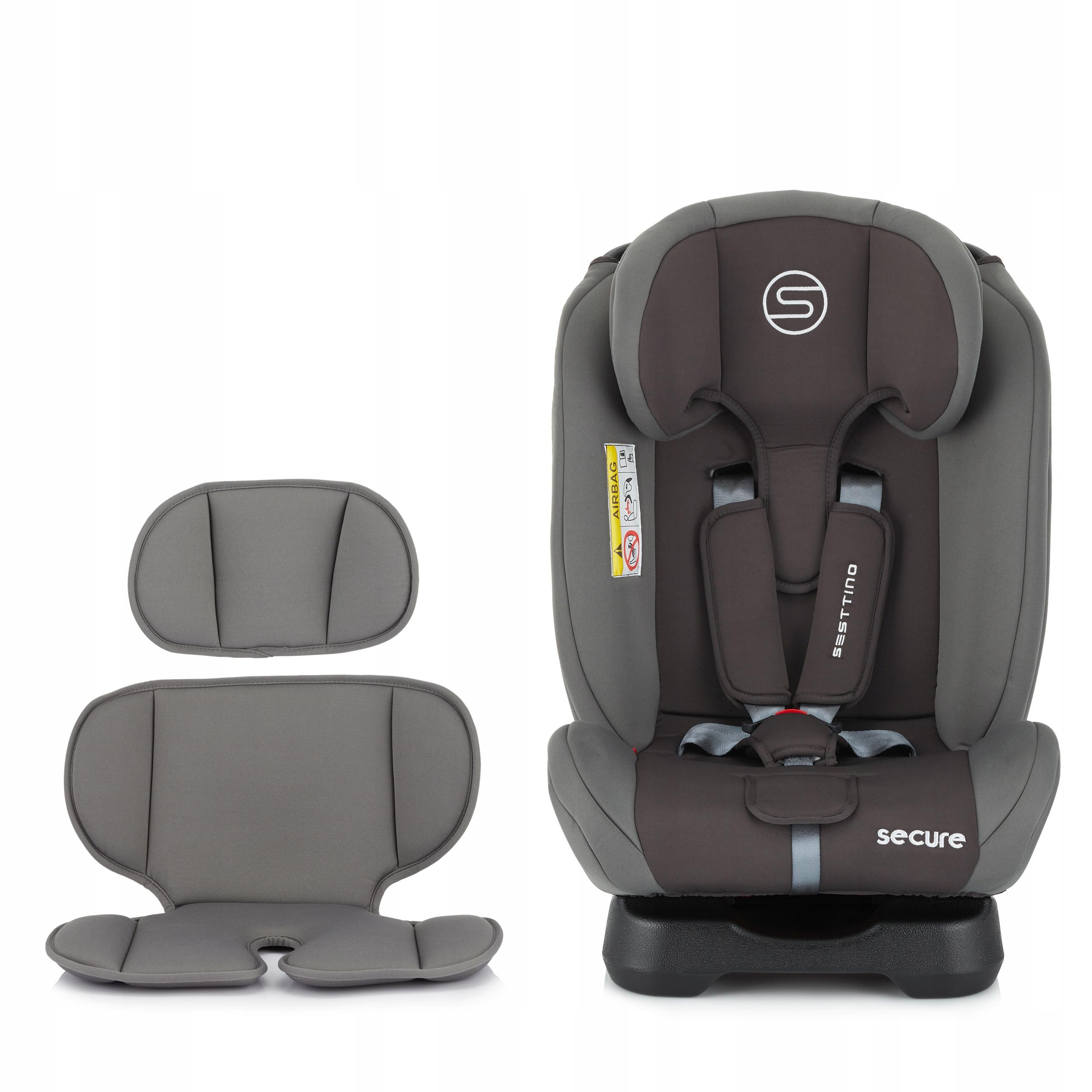Fotelik samochodowy Sesttino Secure PRO 0-36kg Kategoria wagowa 0-36 kg