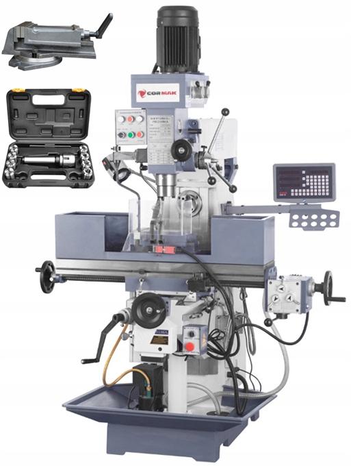 Frézovací stroj Vŕtací stroj 1000x240 mm ZX7550W