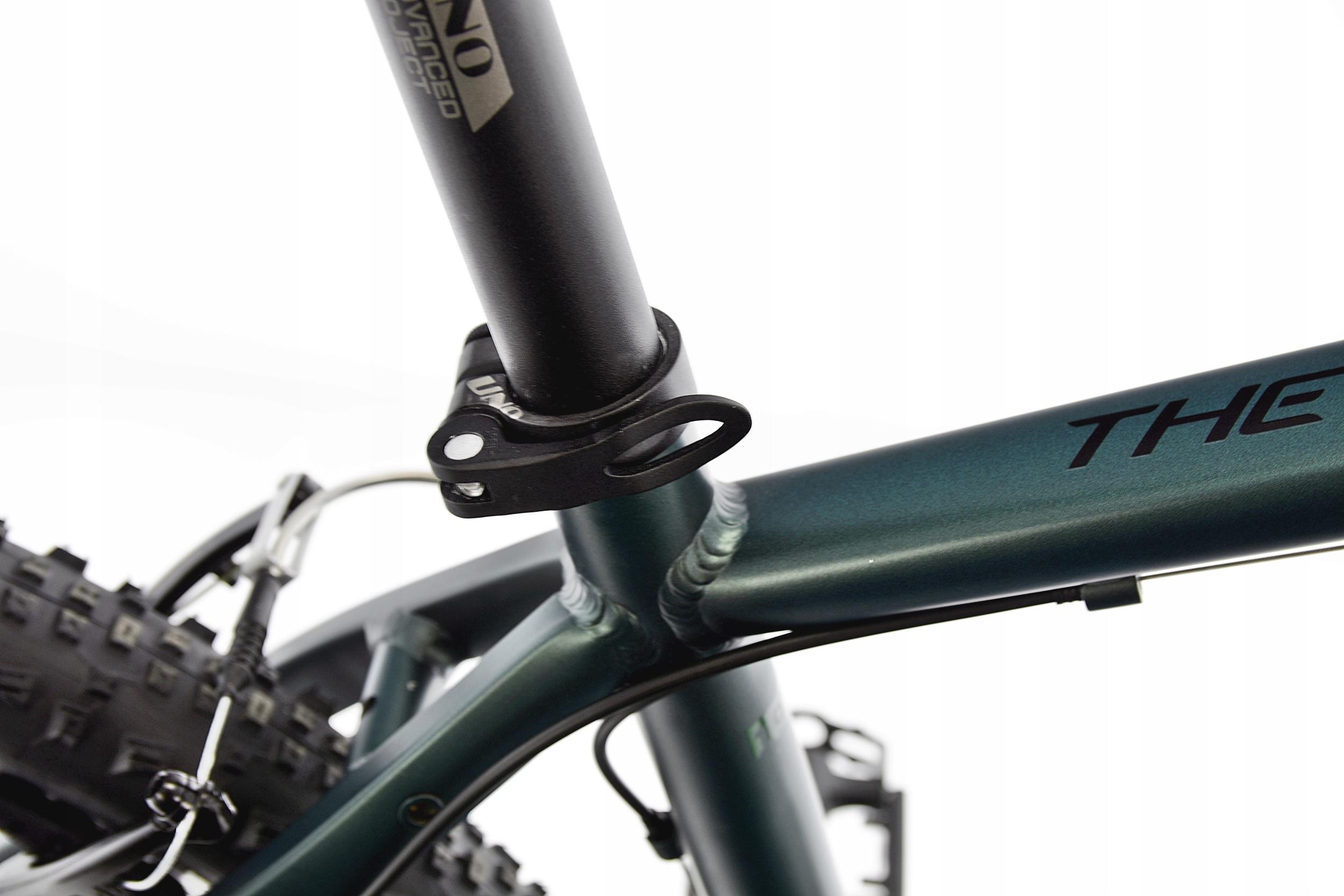 KANDS THE ONE rower mtb 29 VB altus 19 zieleń 2021 Amortyzacja przód