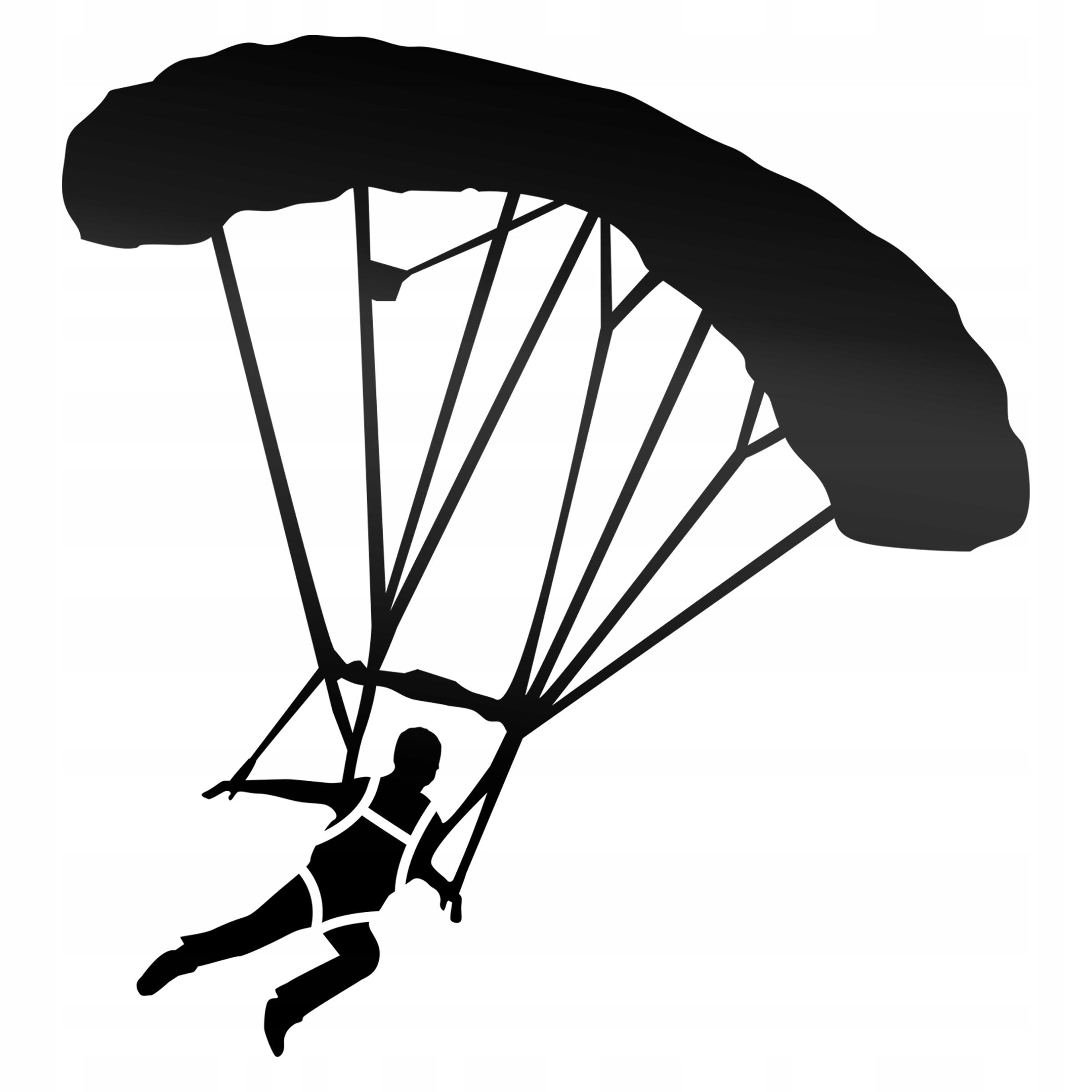 Parachute Jumper Sticker pre telo Body