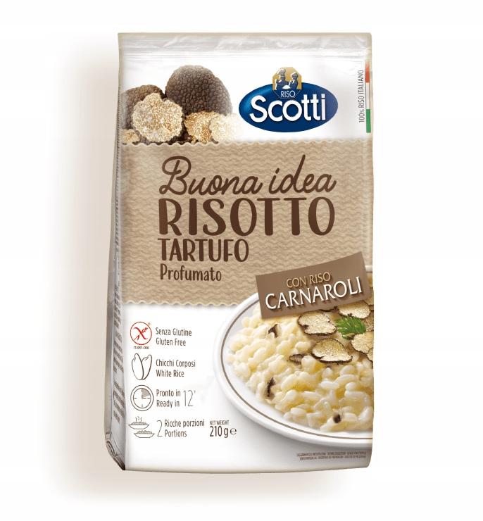 Скотти Ризотто Итальянский Тартуфо с трюфелями 210г