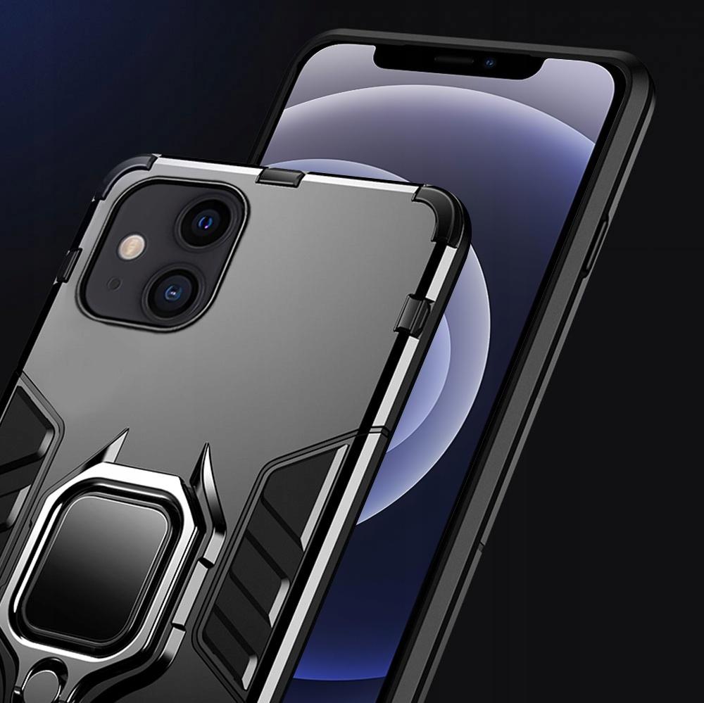 Etui do iPhone 12 Mini Pancerne Ring Case + Szkło Kod producenta 67463