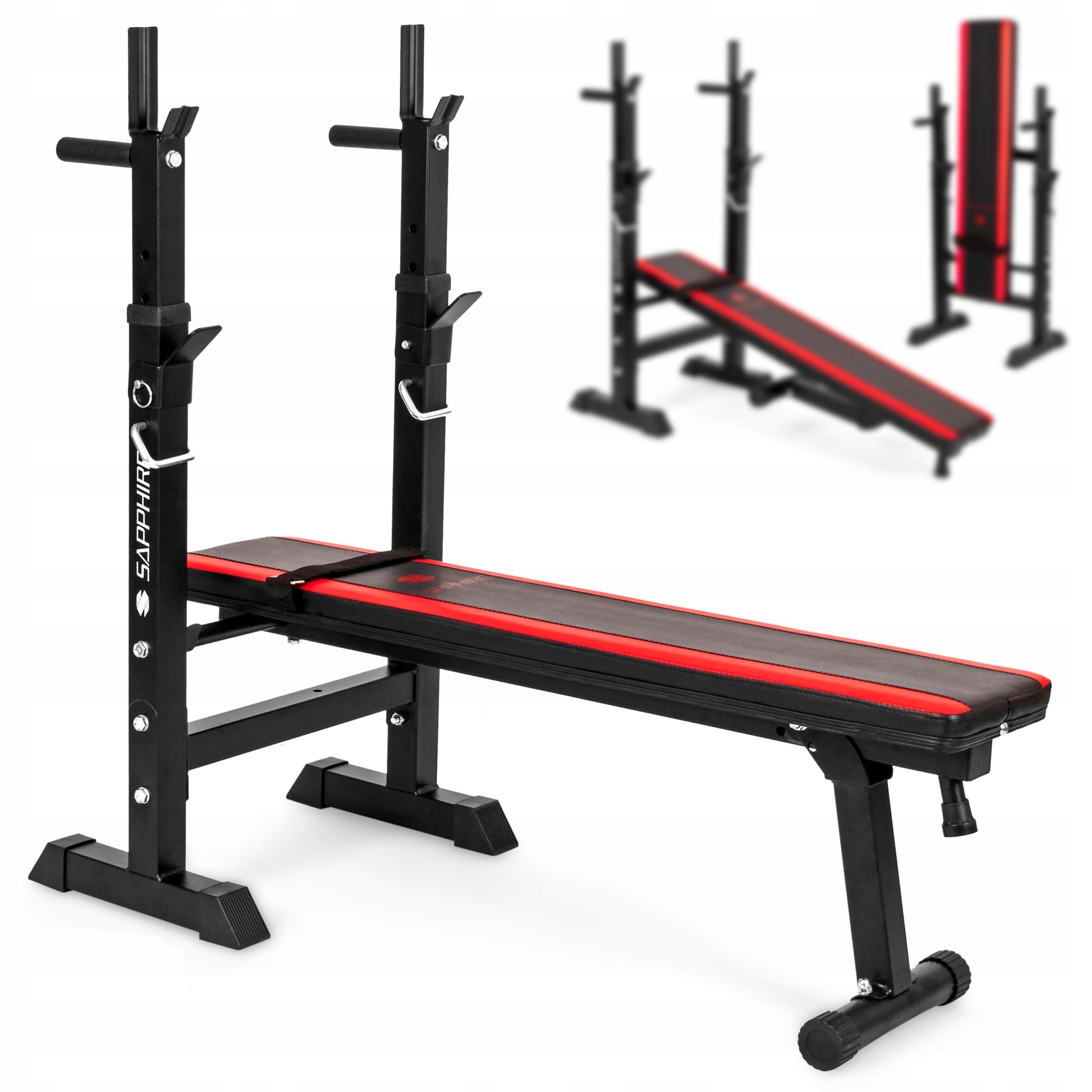 XYLO siłownia 82 kg zestaw ŁAWKA+GRYFY+OBCIĄŻENIA Kod producenta 82_xg25