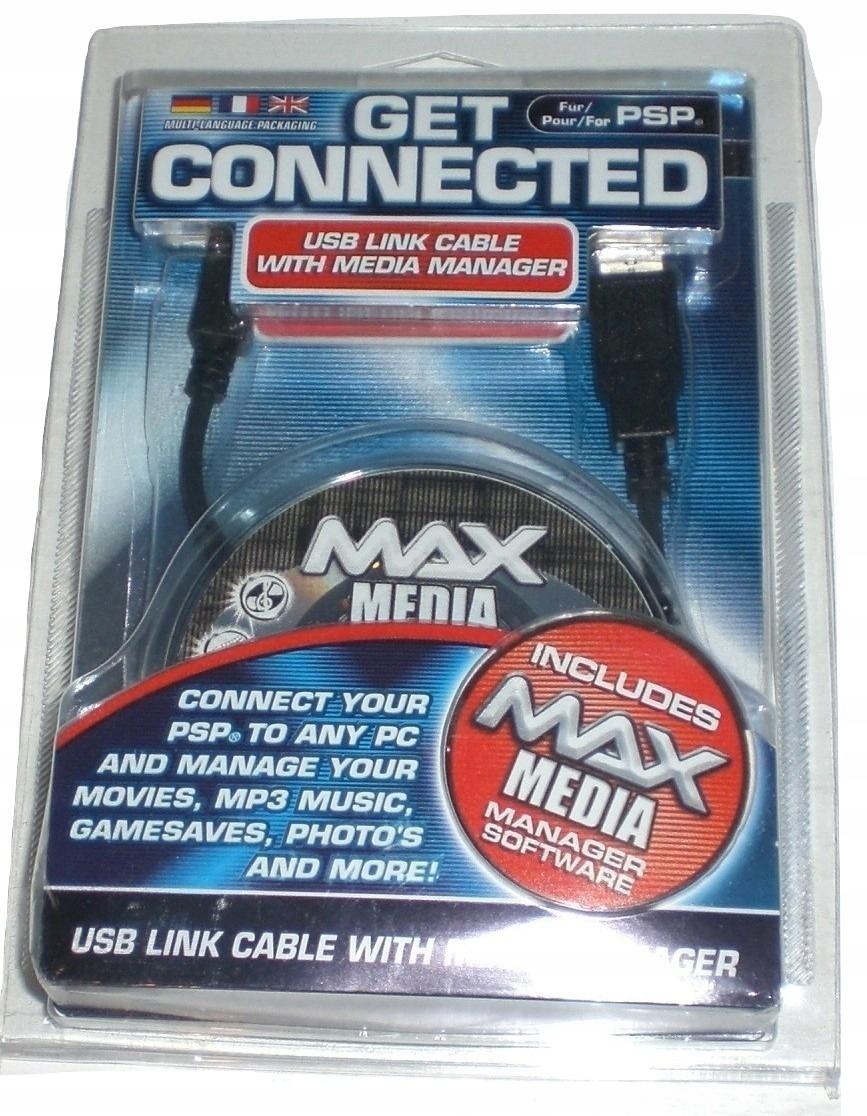 Získajte pripojený - USB kábel pre PSP a MediaManager CD
