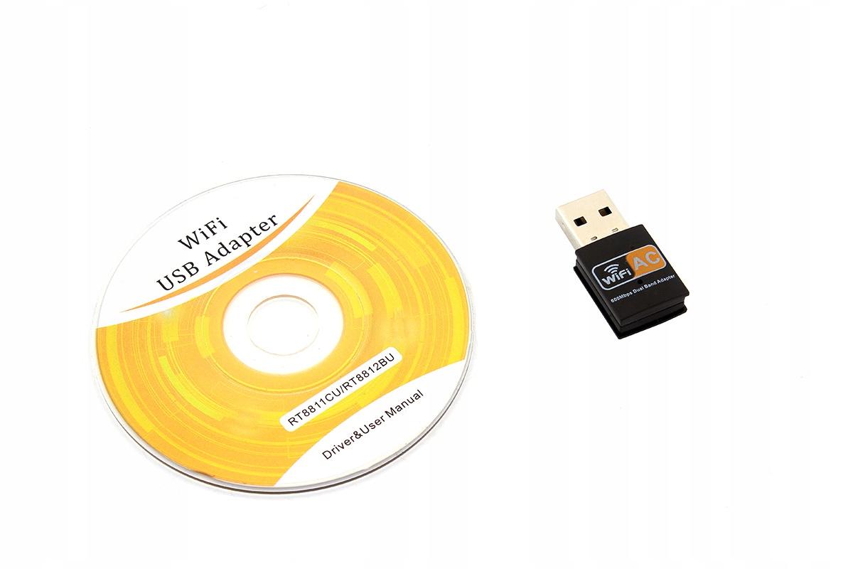 AK177A СЕТЕВАЯ КАРТА wi-fi USB AC 433MBPS 2ггц 5G